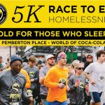 Atlanta Mission 5K Race to End Homelessness, February 17, 2018, Pemberton Place - World of Coca-Cola, 8:30am